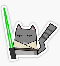 Skywalker Cat Sticker