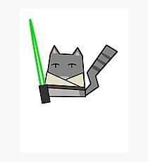 Skywalker Cat Photographic Print