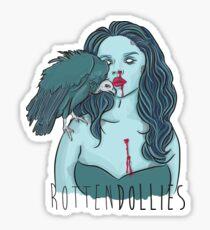 Rotten Dollies - Vulture Sticker Sticker