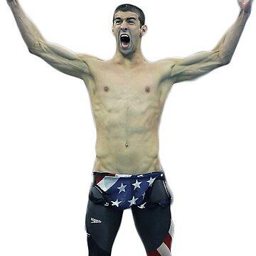 Michael Phelps by wheresbolivia
