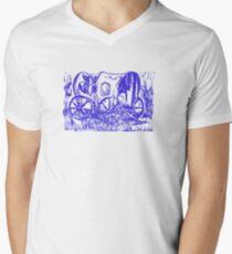 Abandoned Wagon Men's V-Neck T-Shirt