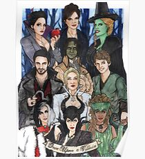 Once Upon A Villain Poster
