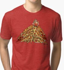 Pizza Dress Tri-blend T-Shirt