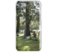Fair Oaks Cemetery iPhone Case/Skin