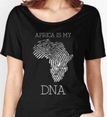 Africa Women's Relaxed Fit T-Shirt