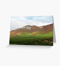 Sable Pass, Denali National Park Greeting Card