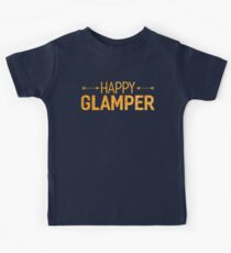 Happy Glamper Glamping T Shirt Kids Clothes