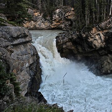 Sunwapta falls by aucean