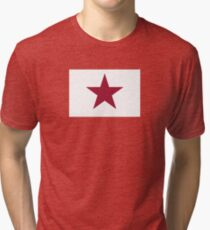 1836 Lone Star Flag of California Tri-blend T-Shirt