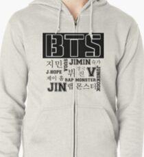 BTS! Zipped Hoodie