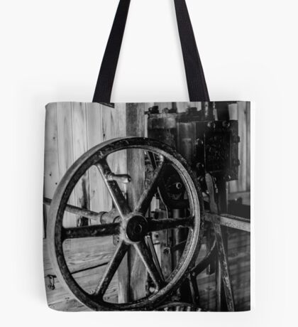 Antique Engine, Logging Museum, Algonquin Park Tote Bag