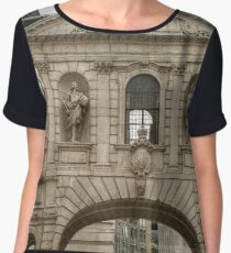 Arch Next to Saint Paul's Cathedral Chiffon Top