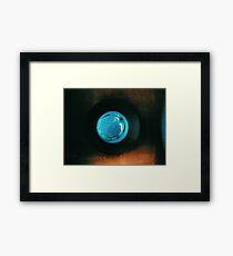 under da sea Framed Print