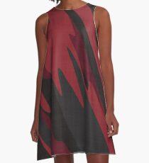 black cherry camo 2 A-Line Dress