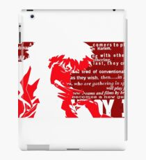 Spike Cowboy bebop Red iPad Case/Skin