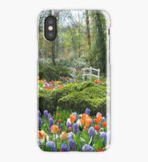 Little Bridge - Keukenhof Gardens iPhone Case/Skin