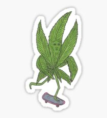 Rolling Weed Sticker
