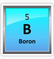 Boron Element Tile - Periodic Table Sticker