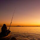 Kayaking Sunrise, Eimeo QLD by IsithombePhoto