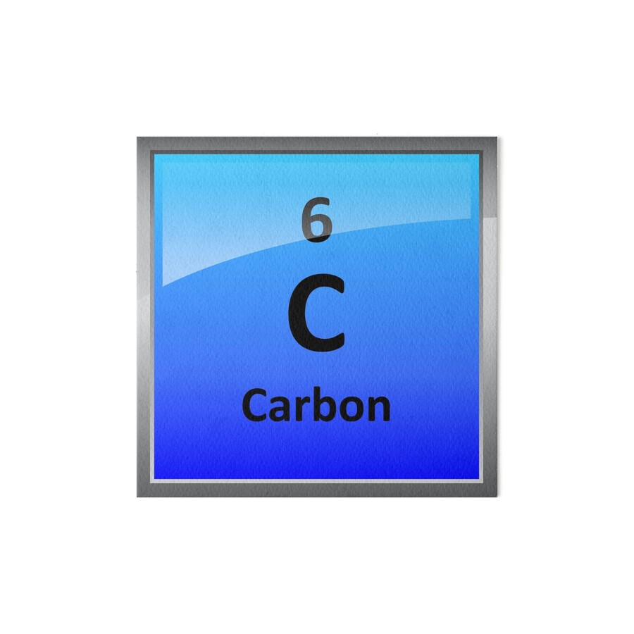 Carbon element tile periodic table art boards by sciencenotes carbon element tile periodic table by sciencenotes gamestrikefo Gallery