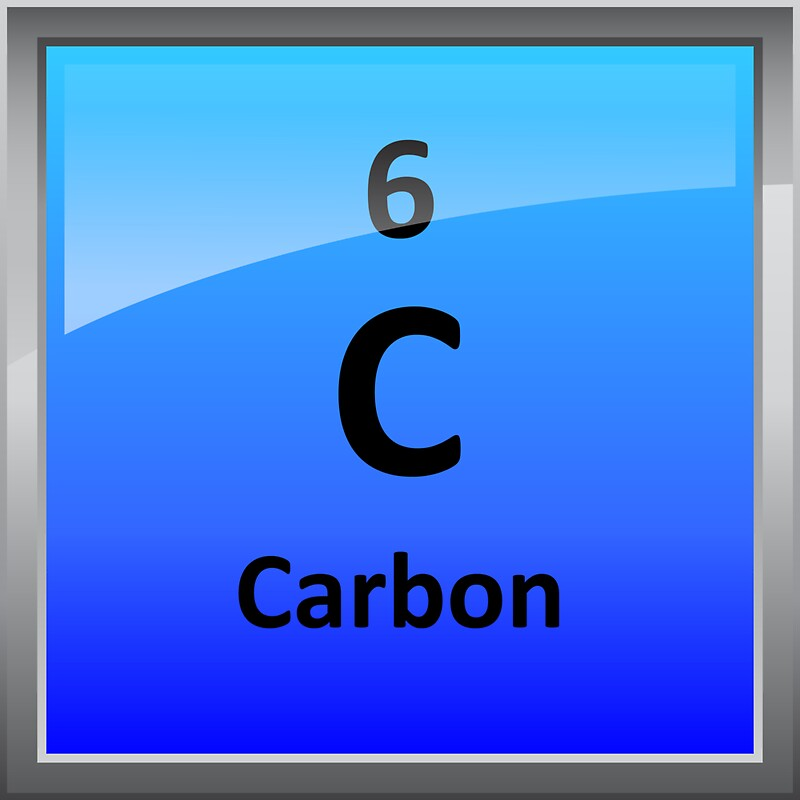quotcarbon element tile periodic tablequot stickers by