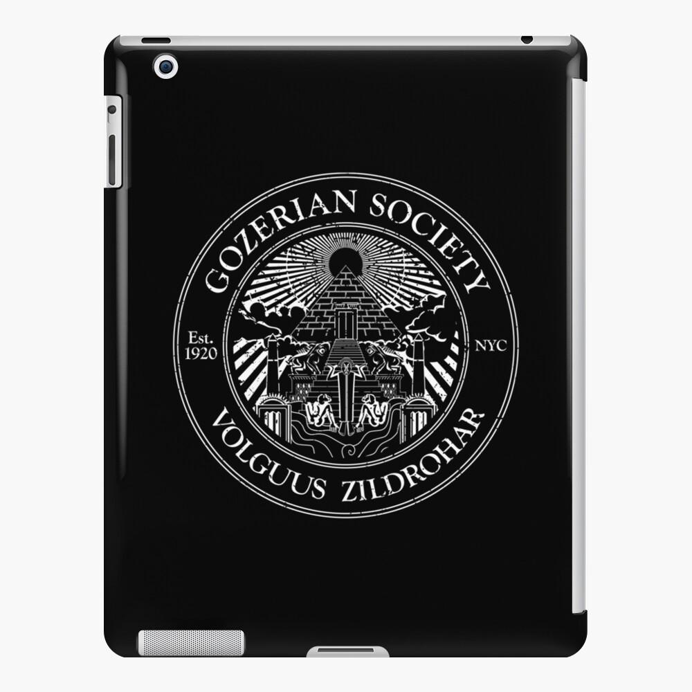 Gozerianische Gesellschaft iPad-Hülle & Skin