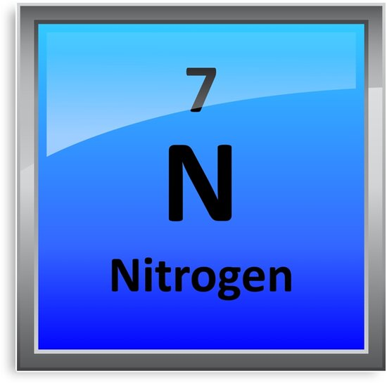 Nitrogen element tile periodic table canvas prints by nitrogen element tile periodic table urtaz Gallery