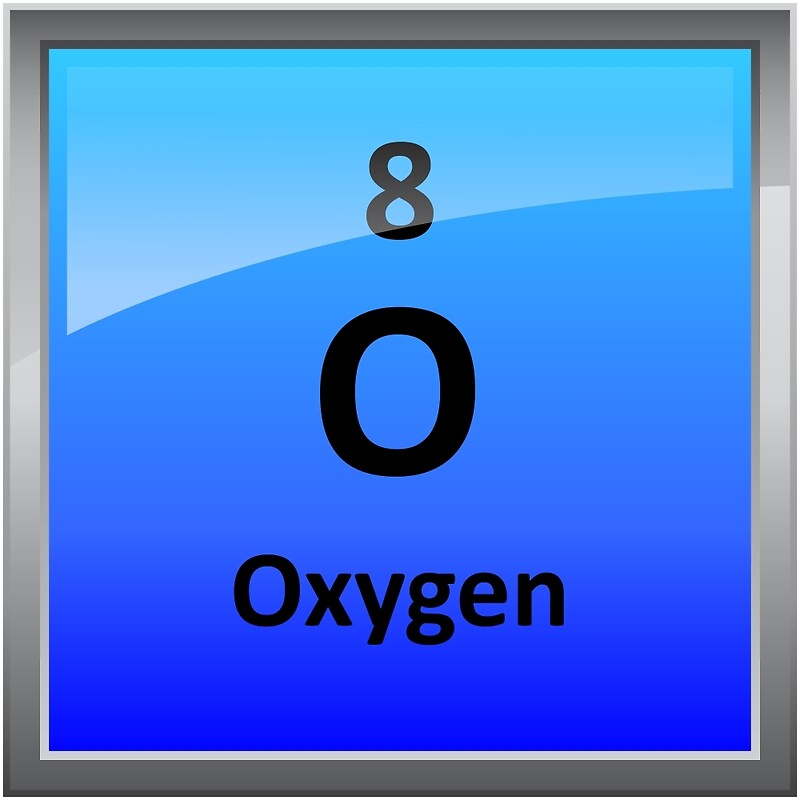 Oxygen element tile periodic table posters by sciencenotes oxygen element tile periodic table by sciencenotes urtaz Gallery