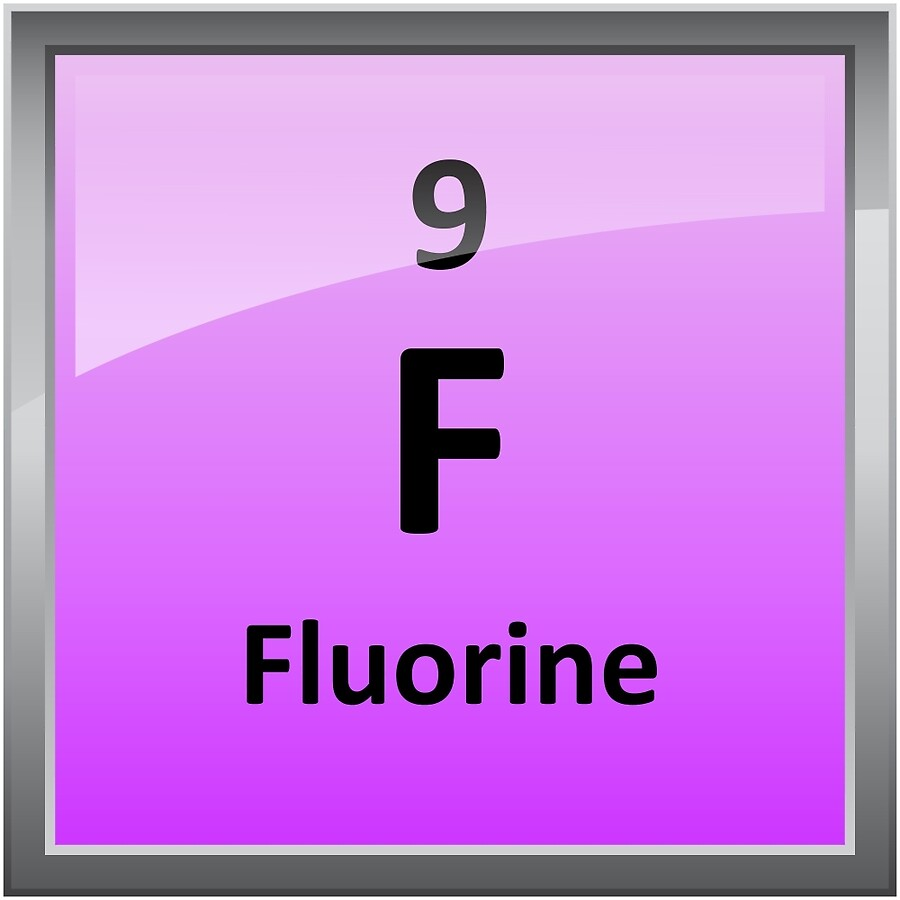 Fluorine on the periodic table image collections periodic table fluorine element tile periodic table art boards by sciencenotes fluorine element tile periodic table gamestrikefo image gamestrikefo Choice Image