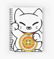 Rally Right Meow Spiral Notebook
