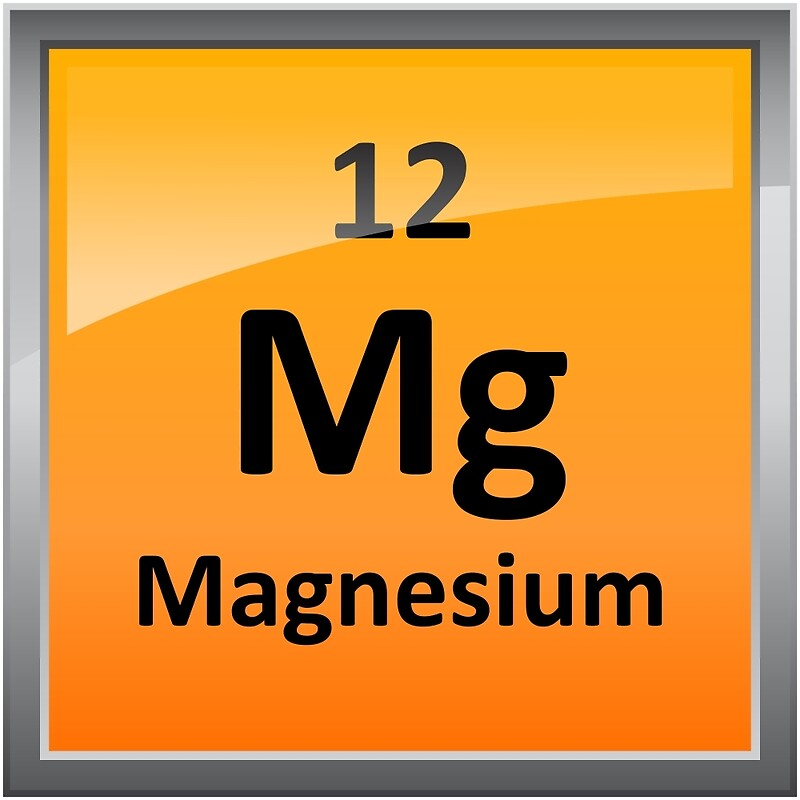 Magnesium element tile periodic table metal prints by magnesium element tile periodic table by sciencenotes urtaz