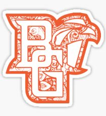 Bowling Green State University doodle Sticker