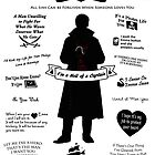 """Captain Hook """"Iconic Quotes"""" Silhouette Design by Marianne Paluso"""