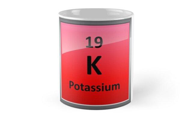 Potassium k periodic table element symbol mugs by sciencenotes potassium k periodic table element symbol by sciencenotes urtaz Choice Image