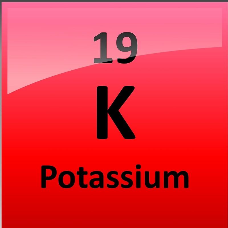 Potassium k periodic table element symbol drawstring bags by potassium k periodic table element symbol urtaz Gallery