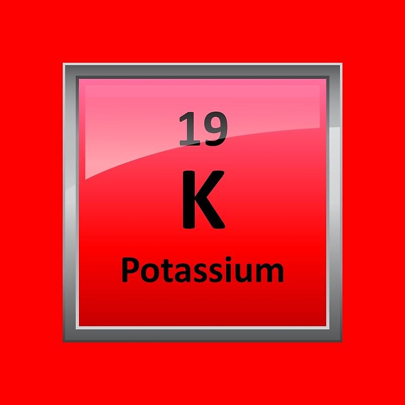 Potassium k periodic table element symbol scarves by potassium k periodic table element symbol urtaz Images