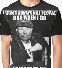 Ed Gein doesn't always.. Graphic T-Shirt