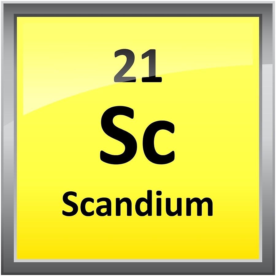 Scandium element symbol periodic table art boards by scandium element symbol periodic table gamestrikefo Images
