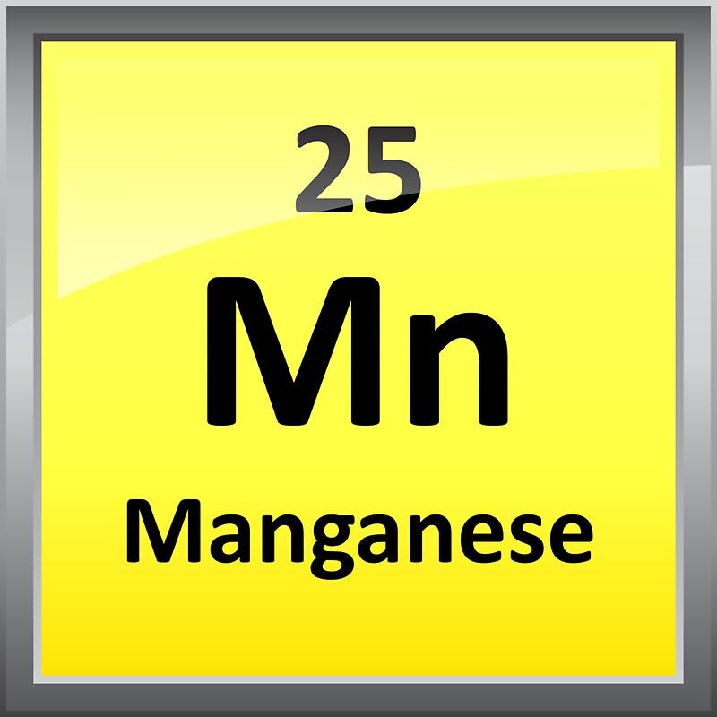 Manganese element symbol periodic table stickers by manganese element symbol periodic table by sciencenotes urtaz Images