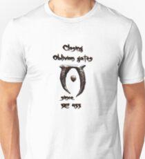 Closing Oblivion Gates Unisex T-Shirt