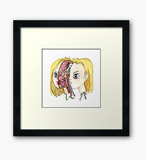 Android 18 Framed Print