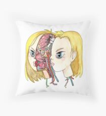 Android 18 Throw Pillow