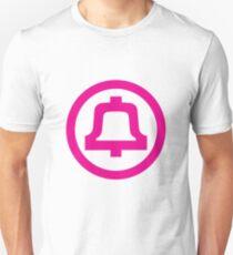 Bell Telephone Logo - Pink Unisex T-Shirt