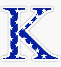 Stars Kappa Sticker
