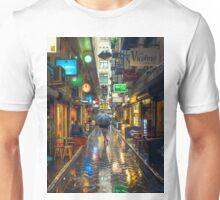 Rainy Day in Bohemian Melbourne Unisex T-Shirt