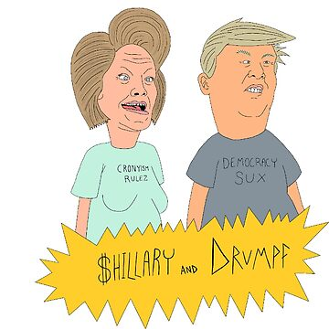 $hillary and Drumpf by aws85