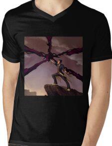 Unlimited Power Mens V-Neck T-Shirt