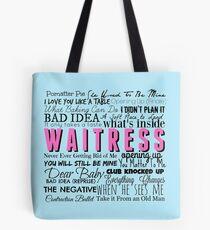 Waitress Original Cast Recording Tote Bag