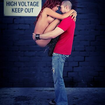 Danger High Voltage - Sexy Alt Couple - Mohawk by NSPARTS