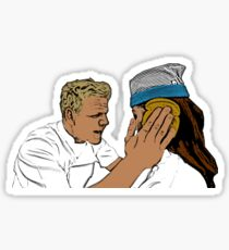 Gordon Ramsay Idiot Sandwich Sticker